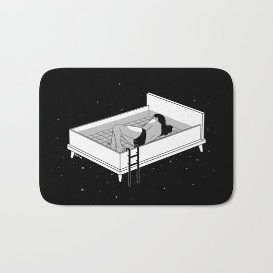 Bed for crying Bath Mat
