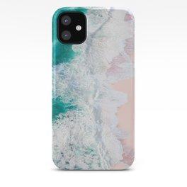 Pink Sand Beach iPhone Case