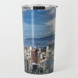 Aerial view at Downtown Vancouver Travel Mug