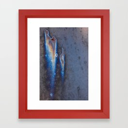 oxidized nebula Framed Art Print