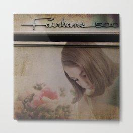 Fairlane Girl Metal Print