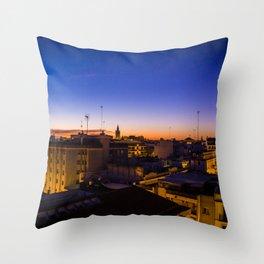 Sevilla City Throw Pillow
