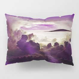 I Want To Believe - Purple Pillow Sham