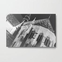 Matthias Cathedral Metal Print