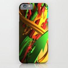 3d graffiti - OrganaYellow iPhone 6s Slim Case