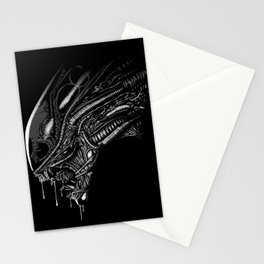 Terror face Stationery Cards