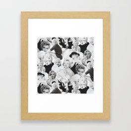 Marilyn Collage Monroe Framed Art Print