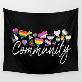 Community - LGBTQA Wall Tapestry