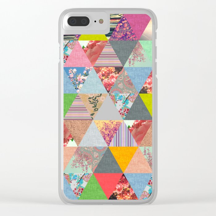 Lost in ▲ Clear iPhone Case