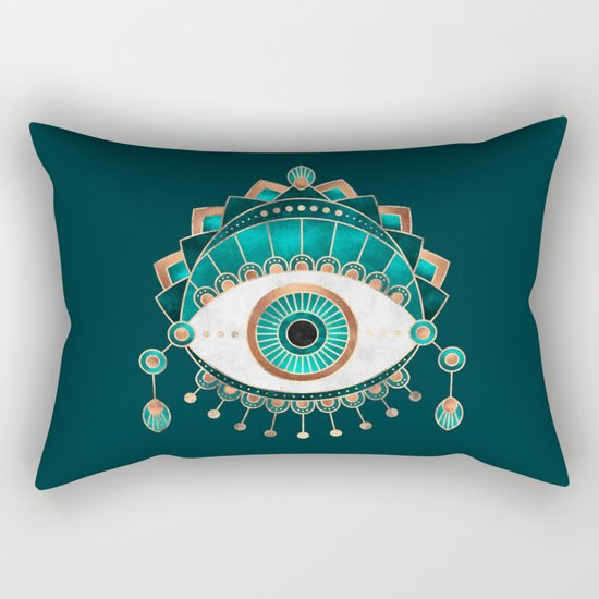 Teal Eye by elisabethfredriksson