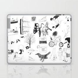 Dreams and bits and bobs Laptop & iPad Skin