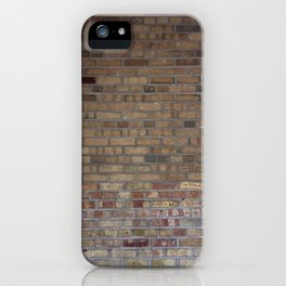 Brick Wall iPhone Case
