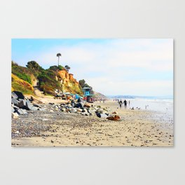 Cardiff By The Sea Canvas Print