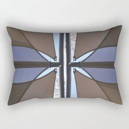 geometry under the sky I Rectangular Pillow