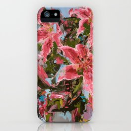 Tiger Lilies - Botanical Series by Meredith Marsone iPhone Case
