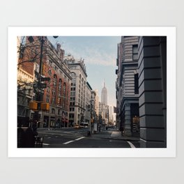 NYC Early Morning Art Print