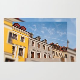 Tenement houses with attic in Lublin Rug
