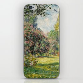 The Parc Monceau by Claude Monet iPhone Skin