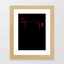 Finding Game (Kyoto, Japan) Inari Framed Art Print