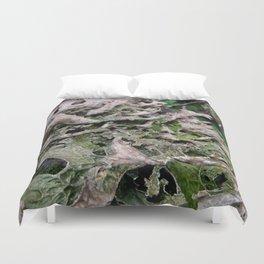 Life on a Fallen Tree Duvet Cover