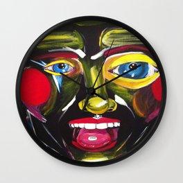 Ecstasy Nightmare Wall Clock