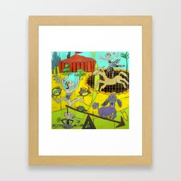 7 Mile Circus Framed Art Print