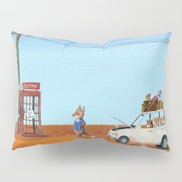 The Out of Service Phone Box Pillow Sham
