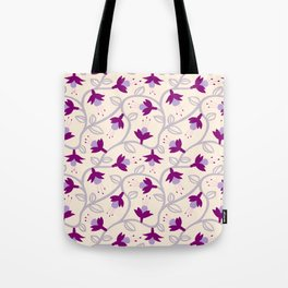 Fuchsias in Pink Tote Bag