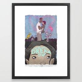 """Maybe She'll Dream Of Me""  Framed Art Print"