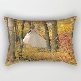 Autumn Tipi Rectangular Pillow