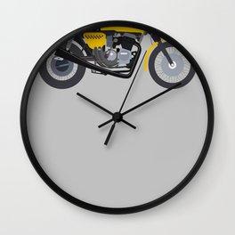 Cafe Bike Wall Clock