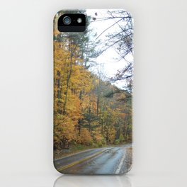 Road to Fall iPhone Case