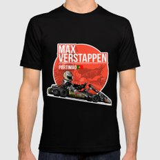 Max Verstappen - 2011 Portimao Mens Fitted Tee Black SMALL