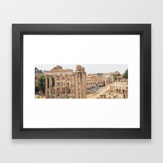This is Rome Framed Art Print