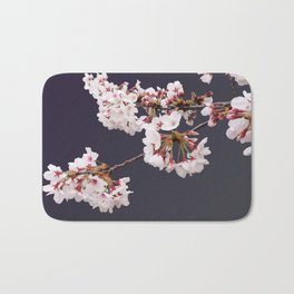Cherry Blossoms (illustration) Bath Mat