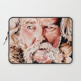 Kurt Russell Watercolor Portrait Laptop Sleeve
