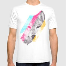 Wild 2 by Eric Fan & Garima Dhawan Mens Fitted Tee MEDIUM White
