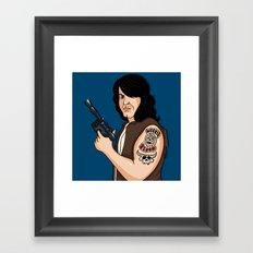 Hanzig Solo Framed Art Print