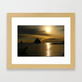 Before The Day Is Out Framed Art Print
