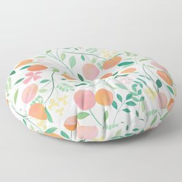 Vanilla Peaches Floor Pillow