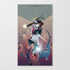 Nothing but Death Canvas Print