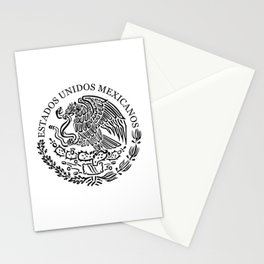 Mexico Coat of Arms Stationery Cards