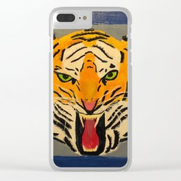 Fear The Tiger Clear iPhone Case