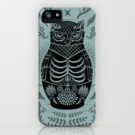 Owl Nesting Doll (Matryoshka) iPhone Case