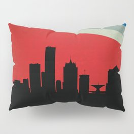 Milwaukee Skyline Pillow Sham