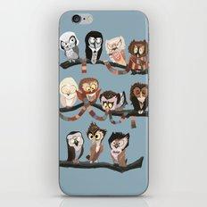 Doctor Hoo - Painted Version iPhone & iPod Skin