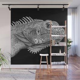 Iguana Wall Mural