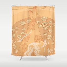 Flower Bath 10 (uncensored version) Shower Curtain