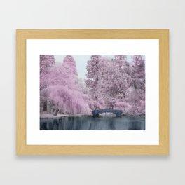 Infra Framed Art Print