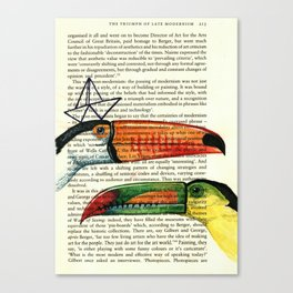 Toucans Canvas Print
